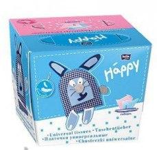 Салфетки универсальные двухслойные, заяц - Bella Baby Happy — фото N2