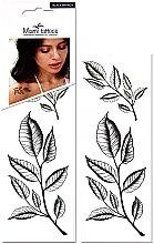 Духи, Парфюмерия, косметика Черные переводные тату - Miami Tattoos Black Branches (мини)