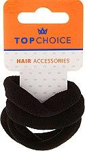 Духи, Парфюмерия, косметика Резинки для волос, 22586, черные - Top Choice