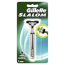 Духи, Парфюмерия, косметика Бритва с 1 сменной кассетой - Gillette Slalom Plus