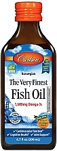 "Духи, Парфюмерия, косметика Пищевая добавка ""Рыбий жир"", апельсин - Carlson Labs The Very Finest Fish Oil"