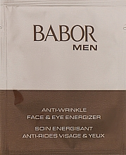 Духи, Парфюмерия, косметика Омолаживающий гель-крем для лица и век - Babor Man Anti- Wrinkle Face & Eye Energizer (пробник)
