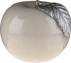 Духи, Парфюмерия, косметика Яблочный лакированный шарик серый, 10см - Artman