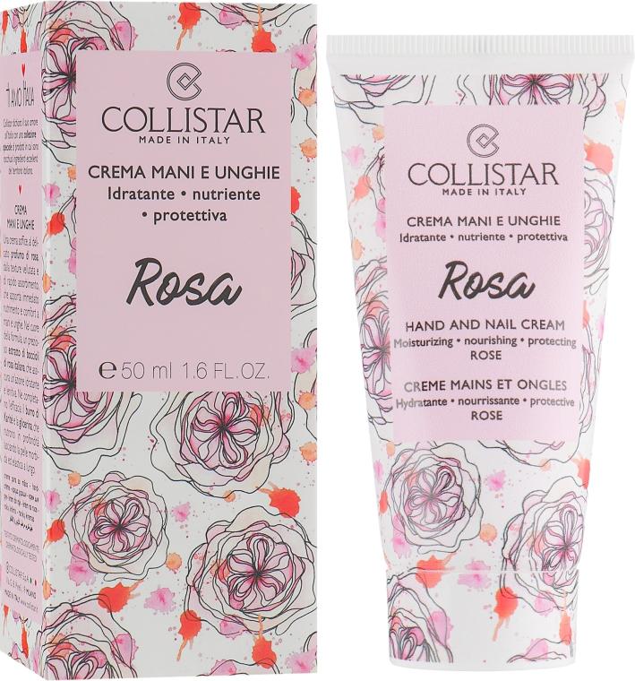 "Крем для рук и ногтей ""Роза"" - Collistar Hand And Nail Cream With Rose"