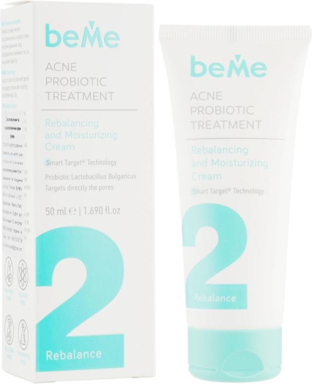 Крем увлажняющий и восстанавливающий против акне 2 - BeMe Rebalancing & Moisturizing Cream
