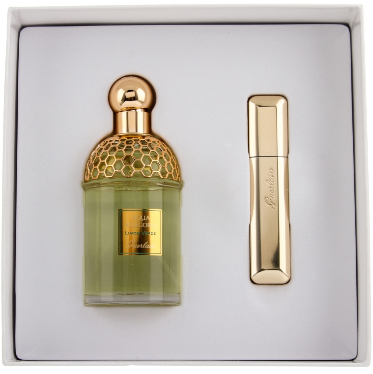 Guerlain Aqua Allegoria Limon Verde - Набор (edt/125ml + mascara/8.5ml)