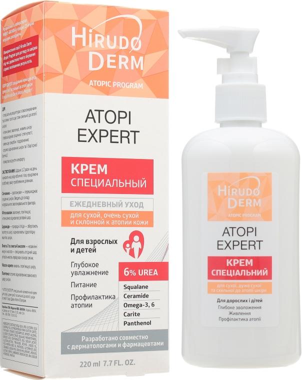 Крем для сухой, очень сухой и склонной к атопии кожи - Hirudo Derm Atopic Program