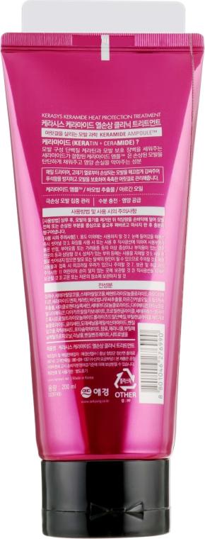 """Маска для волос """"Лечение и защита"""" - KeraSys Keramide Heat Protection Treatment — фото N2"""