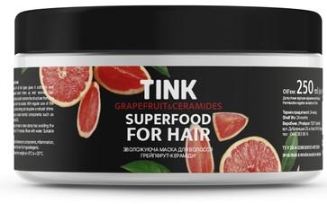 """Увлажняющая маска для волос """"Грейпфрут-керамиды"""" - Tink Hair Mask"""