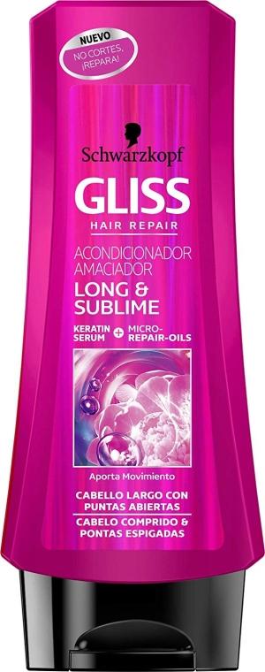 Кондицеонер для волос - Gliss Kur Long & Sublime Conditioner