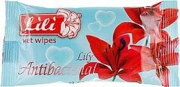 Духи, Парфюмерия, косметика Влажные салфетки с ароматом лилии - Lili