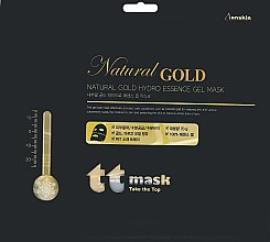 Духи, Парфюмерия, косметика Гидрогелевая маска с золотом - Anskin Natural Gold Hydro Essence Gel Mask