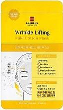 Духи, Парфюмерия, косметика Маска для лица от морщин - Leaders Ex Solution Wrinkle Lifting Mild Cotton Mask