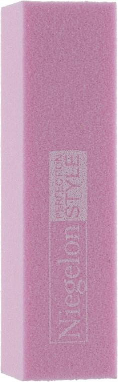 Бафик для ногтей 0574, розовый 80/100 - Niegelon Solingen