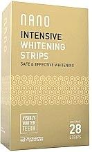 Духи, Парфюмерия, косметика Отбеливающие зубные полоски - WhiteWash Nano Intensive Whitening Strips