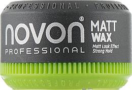 Духи, Парфюмерия, косметика Помада для волос сильной фиксации с матовым эффектом - Novon Professional Matt Wax Ultra Strong Hold