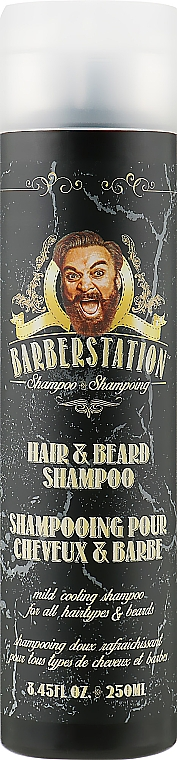 Шампунь для волос и бороды - Barberstation Hair & Beard Shampoo