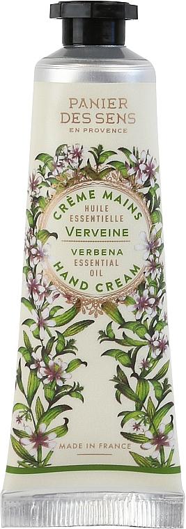 "Крем для рук ""Вербена"" - Panier Des Sens Verbena Hand Cream"