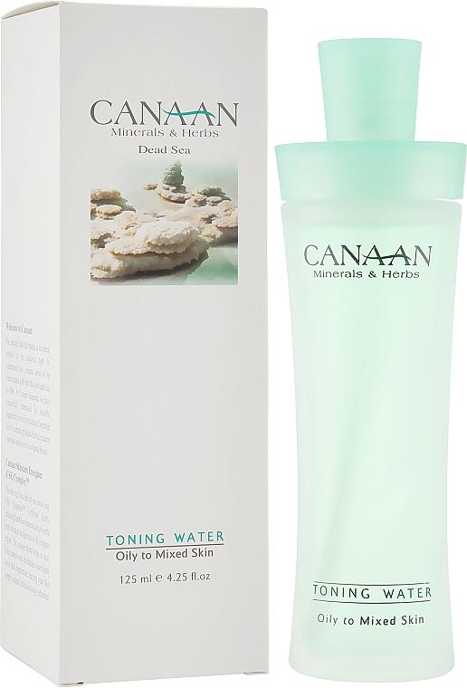 Тоник на водной основе для жирной и комбинированной кожи - Canaan Minerals & Herbs Toning Water Normal to Oily Skin