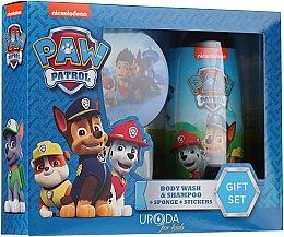 Духи, Парфюмерия, косметика Набор - Uroda Paw Patrol Boy (sh/gel/250ml + sponge + stickers)