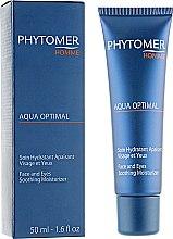 Духи, Парфюмерия, косметика Увлажняющий крем для лица и кожи вокруг глаз - Phytomer Aqua Optimal Soothing Moisturizer Face And Eyes