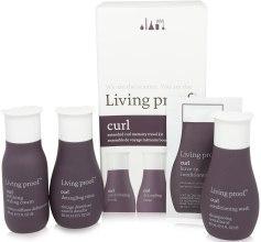 Духи, Парфюмерия, косметика Набор - Living Proof Curl (h/cr/60ml + cond/60ml + h/gel/60ml)