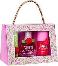 Духи, Парфюмерия, косметика Подарочный набор детской косметики №28 - Nomi Cosmetics (lip/gloss/9g + nail/polish/7ml + lip/balm/4g)