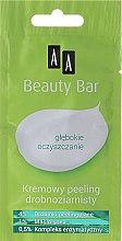 """Духи, Парфюмерия, косметика Кремовый мелкозернистый пилинг """"Глубокое очищение"""" - AA Cosmetics Beauty Bar Creamy Fine-Grained Peeling"""