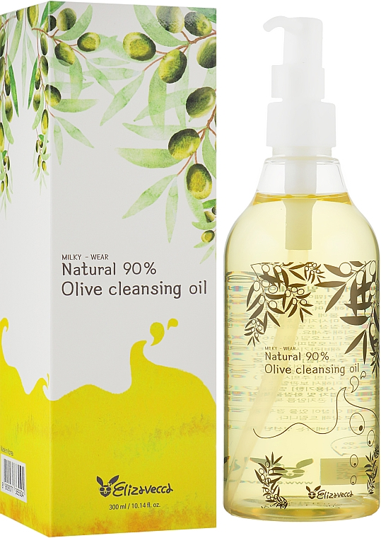 Масло гидрофильное - Elizavecca Face Care Olive 90% Cleansing Oil