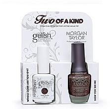 Духи, Парфюмерия, косметика УЦЕНКА Набор лаков для ногтей - Gelish Two Of A Kind Kit (nail/01848/15ml + nail/50141/15ml) *