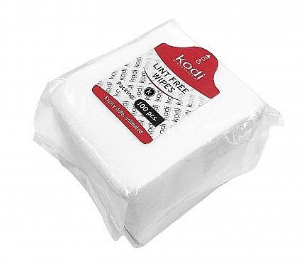 Безворсовые салфетки, 6x5см - Kodi Professional
