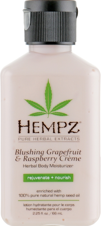 "Молочко для тела ""Грейпфрут и Малина"" - Hempz Blushing Grapefruit & Raspberry Cream Moisturizer"
