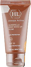 Парфумерія, косметика Сонцезахисний крем з тоном - Holy Land Cosmetics Sunbrella SPF 30 Demi Make-Up