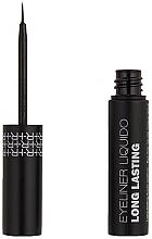 Духи, Парфюмерия, косметика Жидкая водостойкая подводка для глаз - Rougj+ Glamtech Waterproof Long-Lasting Liquid Eyeliner