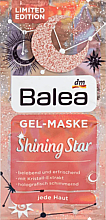 Духи, Парфюмерия, косметика Гелевая маска для лица - Balea Shining Star Face Mask