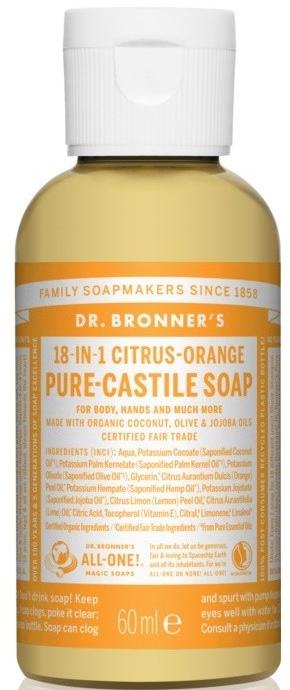 "Жидкое мыло ""Цитрус и апельсин"" - Dr. Bronner's 18-in-1 Pure Castile Soap Citrus & Orange"