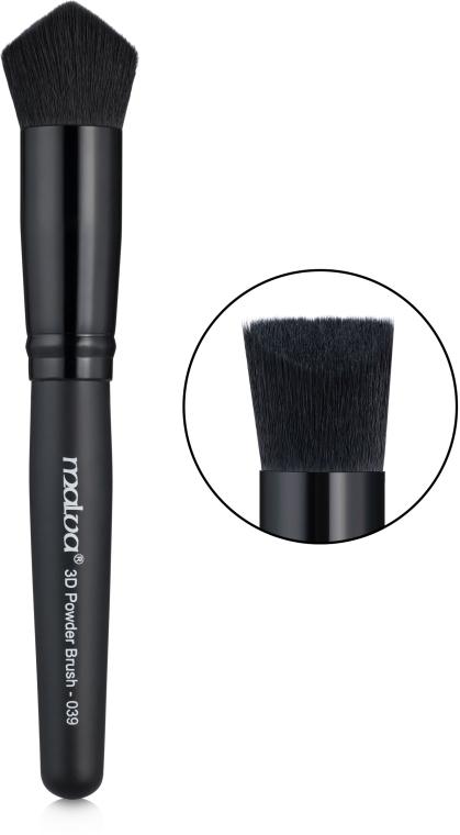 Кисть 3D для пудры №039 - Malva Cosmetics