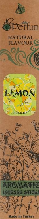 Аромапалочки с успокаивающим ароматом лимона - MSPerfum