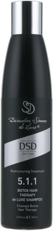 """Шампунь для волос """"Ботокс"""" №5.1.1 - Simone DSD de Luxe Botox Hair Therapy de Luxe Shampoo"""