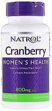 Духи, Парфюмерия, косметика Экстракт клюквы, 800мг - Natrol Cranberry Women's Health