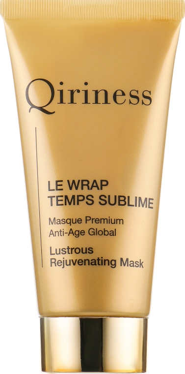 Глобальная анти-возрастная омолаживающая маска - Qiriness Le Wrap Temps Sublime Masque Premium Anti-Age Global