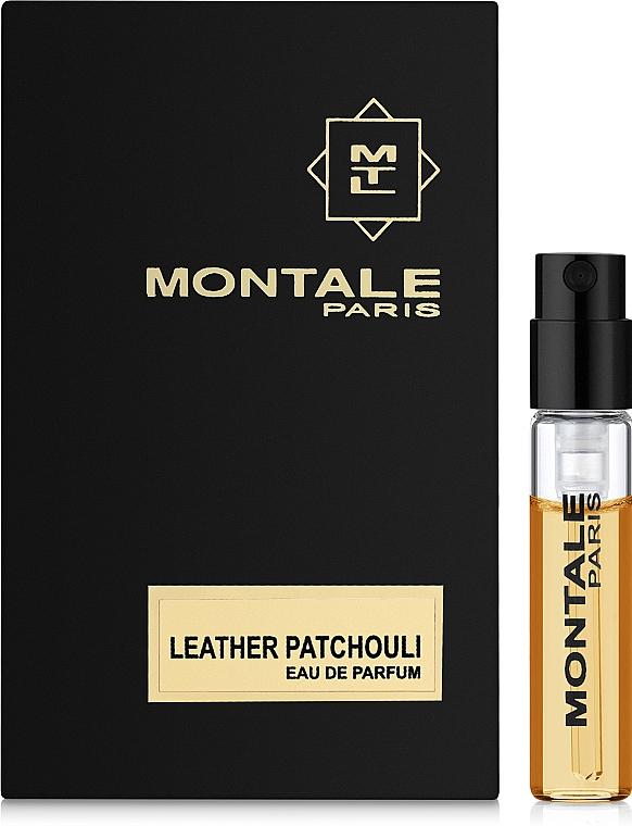 Montale Leather Patchouli - Парфюмированная вода (пробник)