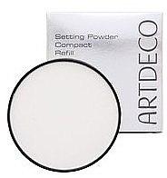 Духи, Парфюмерия, косметика Прозрачная пудра с нежной текстурой, запасной блок - Artdeco Setting Powder Compact Refill