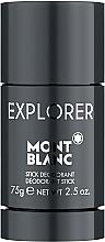 Парфумерія, косметика Montblanc Explorer Stick - Дезодорант-стік
