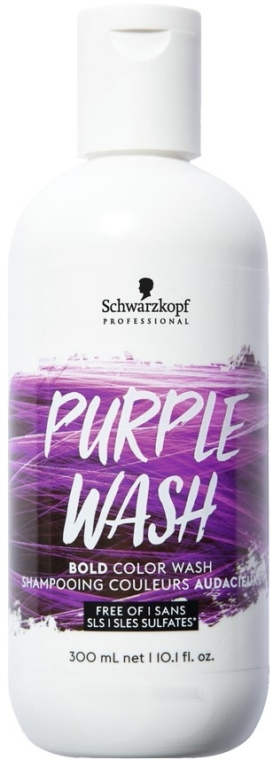 Пигментированный шампунь для волос - Schwarzkopf Professional Bold Colour Wash Shampoo