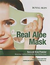 Духи, Парфюмерия, косметика Маска для лица с Алое - Royal Skin Real Aloe Mask