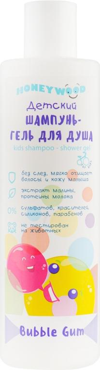 """Детский шампунь-гель для душа Bubble Gum """"Honeywood"""" - Аромат"""