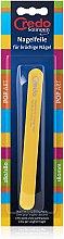 Духи, Парфюмерия, косметика Пилка Pop Art для слоящихся ногтей 180 мм, 27512, желтая - Credo Solingen