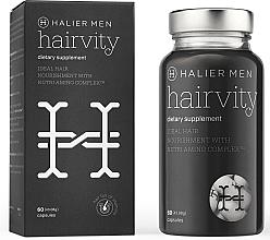 Духи, Парфюмерия, косметика Капсулы от выпадения волос для мужчин - Halier Men Hairvity Hair Vitamins Anti Hair Loss