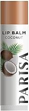 """Духи, Парфюмерия, косметика Гигиеническая помада для губ """"Кокос"""" - Parisa Cosmetics Coconut Lip Balm"""